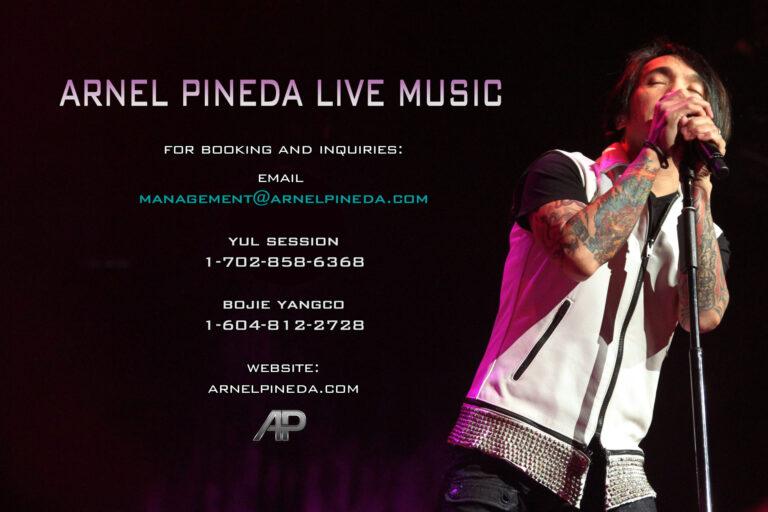 Arnel Pineda Live Music